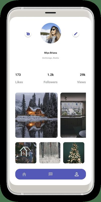 Flutter App Profile
