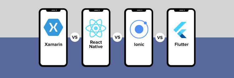 Xamarin-vs-React-Native-vs-Ionic-vs-Flutter