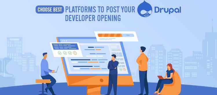 platform to hire drupal developers