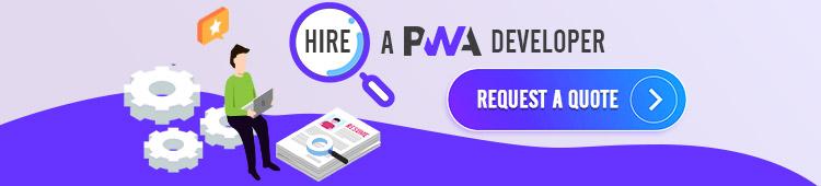 hire PWA developer