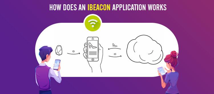 ibeacon application work
