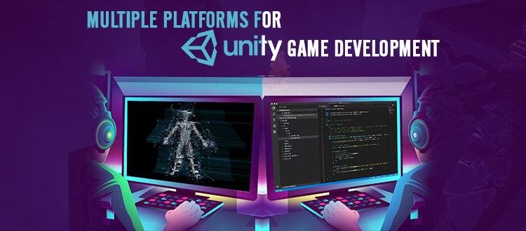 platforms for unity game development