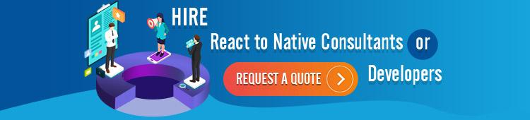 react native app developer hire