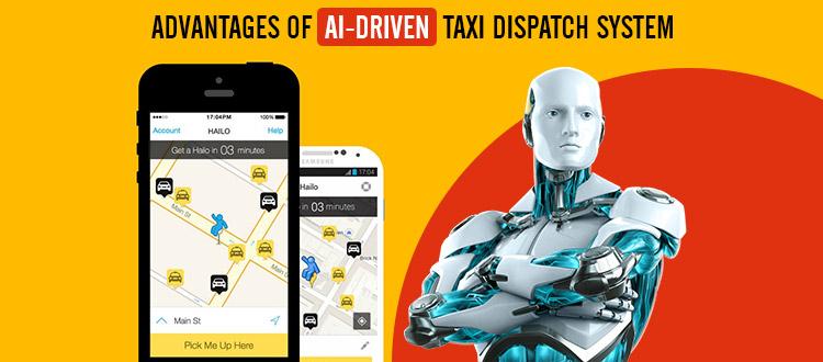 advantage of AI taxi app