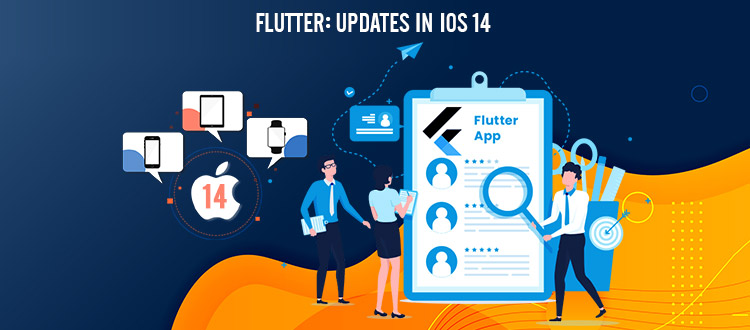 flutter updates in ios 14