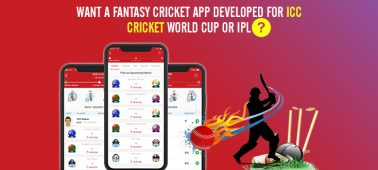 Want a Fantasy Cricket App Developed for ICC Cricket World Cup Or IPL? (Before 2022- 2023)