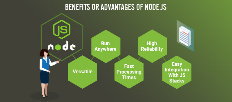 advantage of nodejs