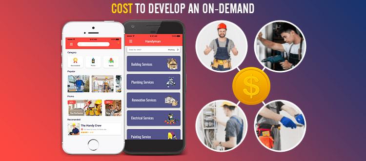 handyman app development cost