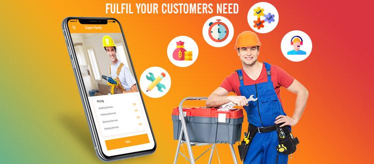 handyman app for customer