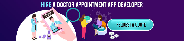 hire a doctor appointment app developer