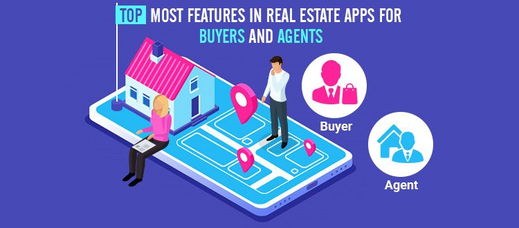 features real estate app