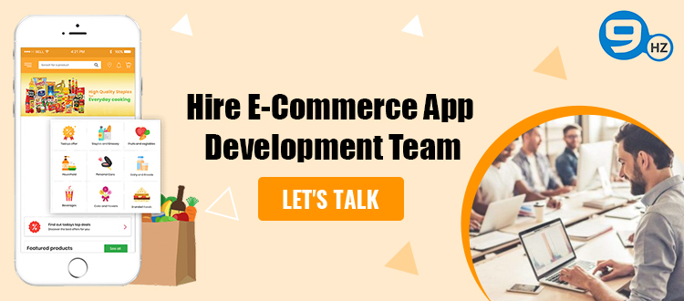 hire ecommerce app developer