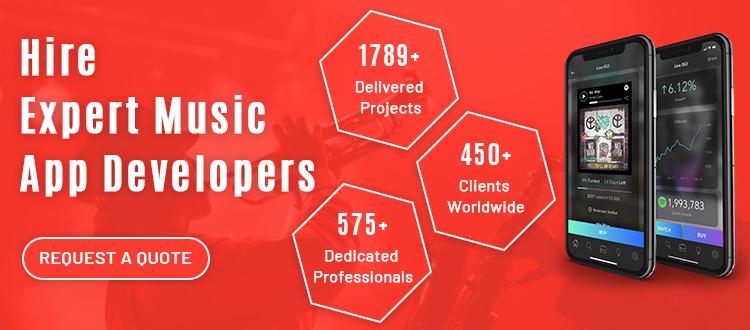 hire music app developers