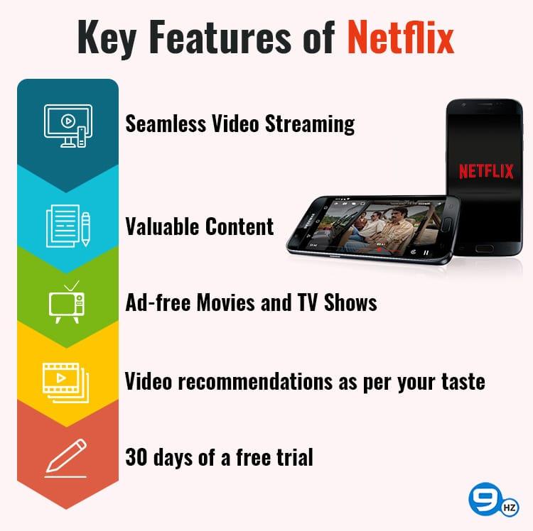 features of netflix app