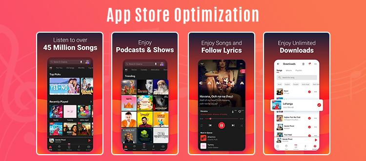 music app on app store