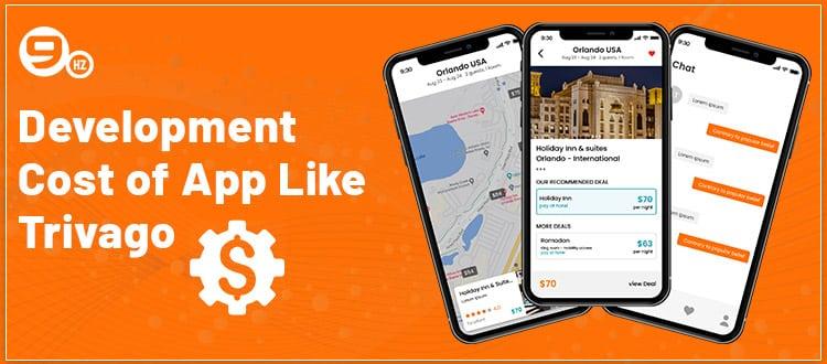 app like trivago development cost