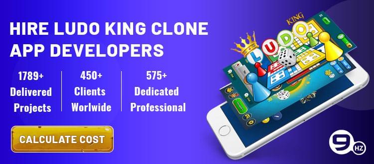 Hire Ludo king clone app developer