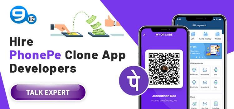 phonepe clone app