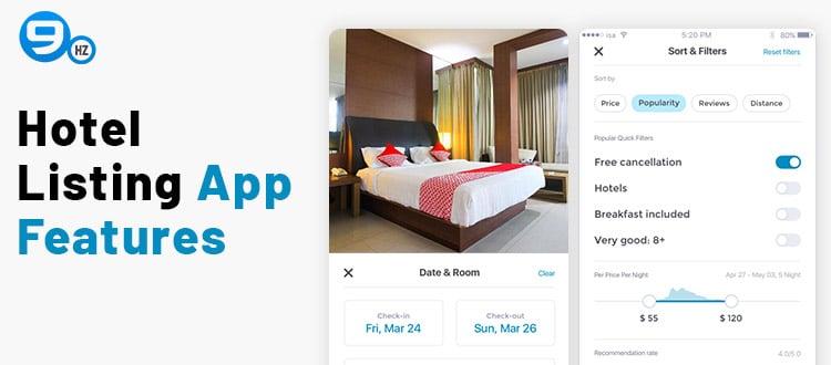 trivago app features