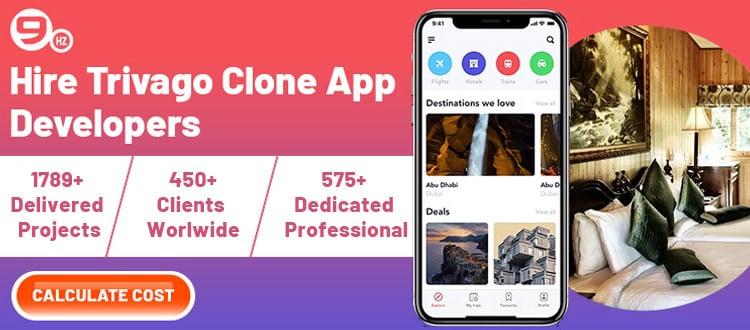 hire trivago clone app developers