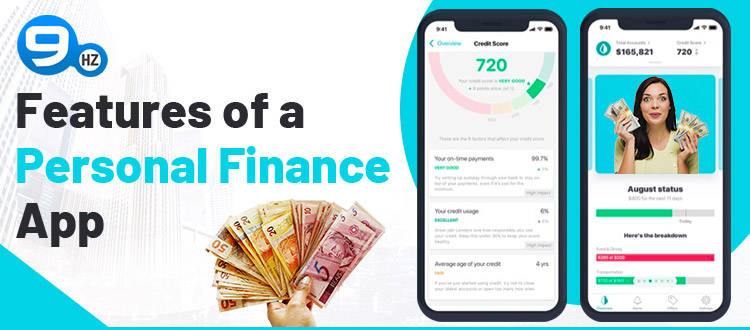 personal finance app features