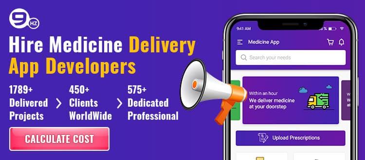medicine delivery app development company