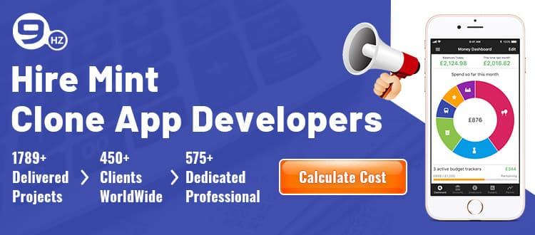 hire mint clone app developers
