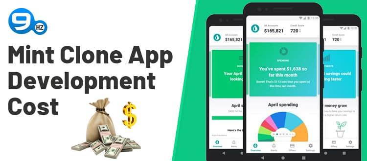 personal finance app development cost