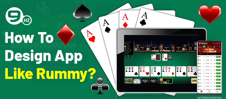 how to design app like rummy