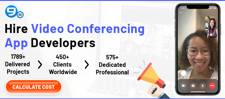 hire video conferencing app developers