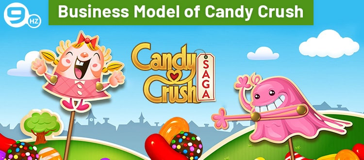 business model of candy crush