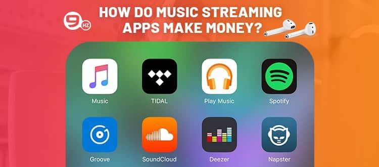 how music app make money