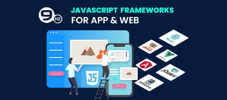 javascript framework for mobile app development