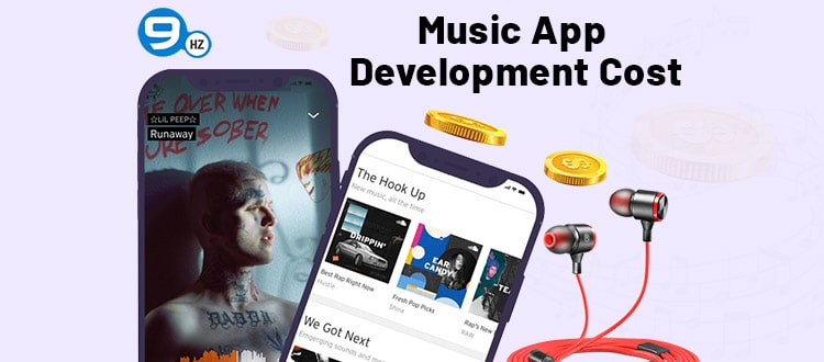music streaming app development cost