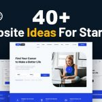 40+ Creative Website Ideas for Startup, Students and Beginners in 2021