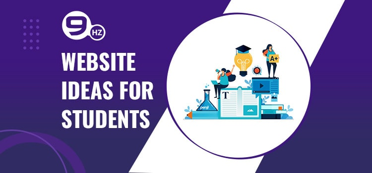 website ideas for students