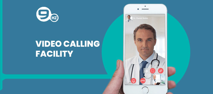 video calling feature for doctor appointment app